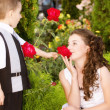 Little romance - Stock Photo