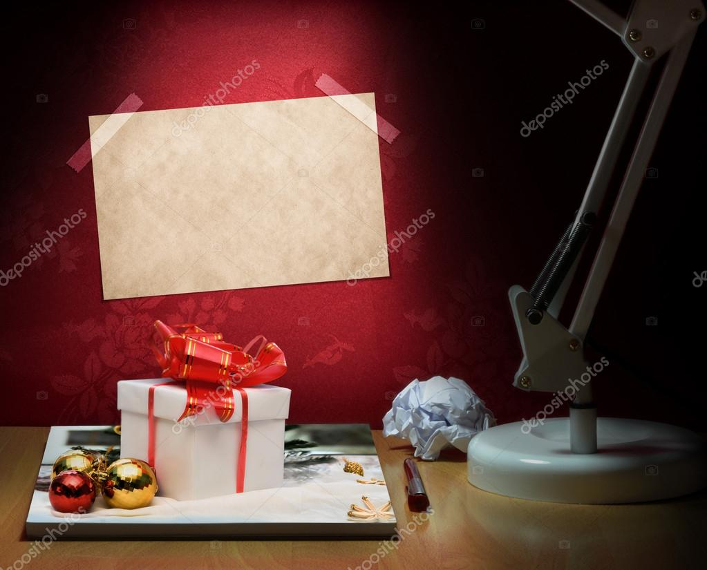 Concept about gifts for chrismas — Stok fotoğraf #13685924