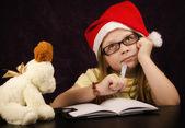 Santa letter — Stock Photo