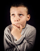 Little thinker — Stock Photo