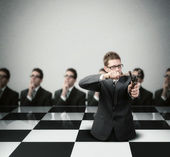 Developing a Winning Strategy — Stock Photo