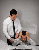 My boss is a bully — Stock Photo