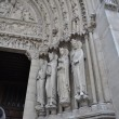 The Saints of Notre-Dame Cathedral — Stock Photo #34471509