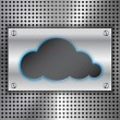 Wektor stockowy : Abstract Cloud Computing concept background