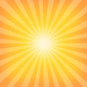 Sun Sunburst Pattern — Stock Vector