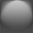 Stock Vector: Metallic backgrounds with holes