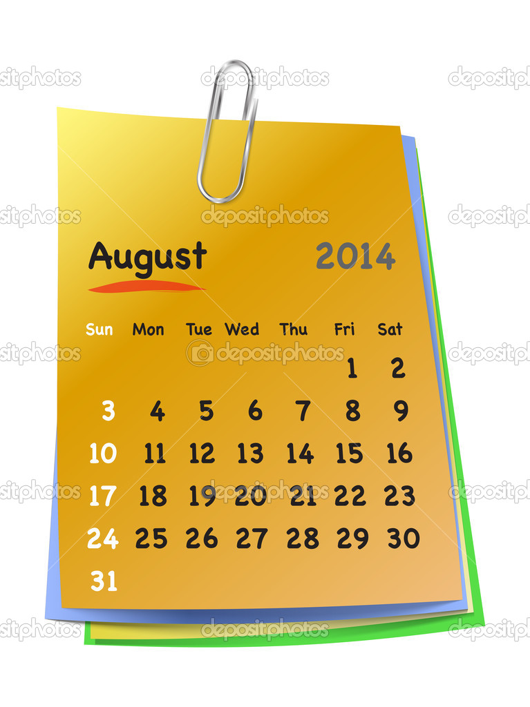 how to make sticky note calenders