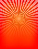 Empty Red Sunburst Pattern — Stock Vector