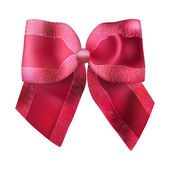 Superb red bow for gifts and decorations — Stok Vektör