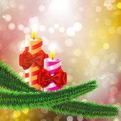 Buon natale e felice anno nuovo sfondo astratto — Vettoriale Stock
