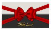 Luxury greetings card — ストックベクタ