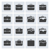 Portfolio icon set — Stock Vector