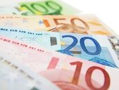 Euro currency bank notes — Stock Photo