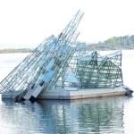 Скульптура льда Берг — Стоковое фото