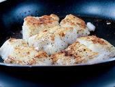 Steka fisk, vit fisk — Stockfoto