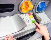 ATM machine — Stock Photo