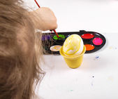 Painting egg — Stock Photo