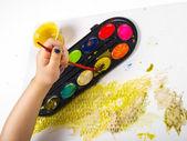 Painting egg — Stockfoto