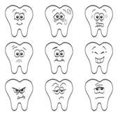 Teeth — Stock Vector