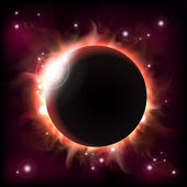 Eclipse — Stock Vector
