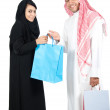 Royalty-Free Stock Photo: Arab Couple shopping