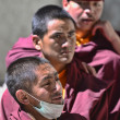 Stock Photo: Young Monks