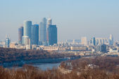 Moscow City business centre — Stock Photo