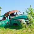 A car wreck — Stockfoto