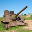 Stock Photo: SU-100 artillery unit