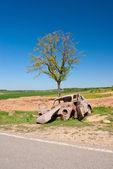 A car wreck — Foto Stock