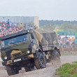 KAMAZ-43501 airborne forces truck - Stock Photo