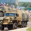 URAL-4320 trucks — Stock Photo
