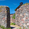 Walls of Suomenlinna — Stock Photo