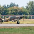Stock Photo: Hawker Hurricane fighter plane