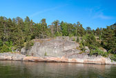 Finnish landscape — Stock Photo