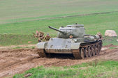 T-44 tank — Stock Photo