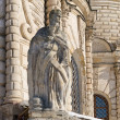 Apostle statue on the church — Foto Stock