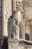 Apostle statue on the church — Stock Photo