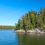 Finnish landscape — Stock Photo