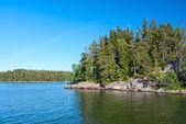 芬兰风景 — 图库照片