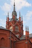 Podrobnosti o gotické katedrály v moskvě — Stock fotografie