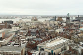 Birdseye view of Liverpool — Стоковое фото