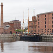 Ship in the Albert Dock — Stock Photo
