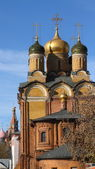 Cathedral of the Sign Monastery.Moscow — Stock Photo