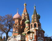 St. Basil's Cathedral.Moscow — Stock Photo