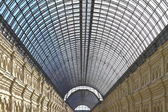 The ceiling of GUM, Moscow, Russia — Stock Photo