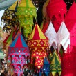 Lanterns Shop — Stock Photo