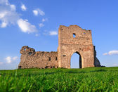 Ruins of old castle (Ukraine, Kremenets Fort) — Stock Photo