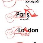 Fashion week design element — Stock Vector #6858235