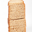 Stock Photo: Bread slices vertically